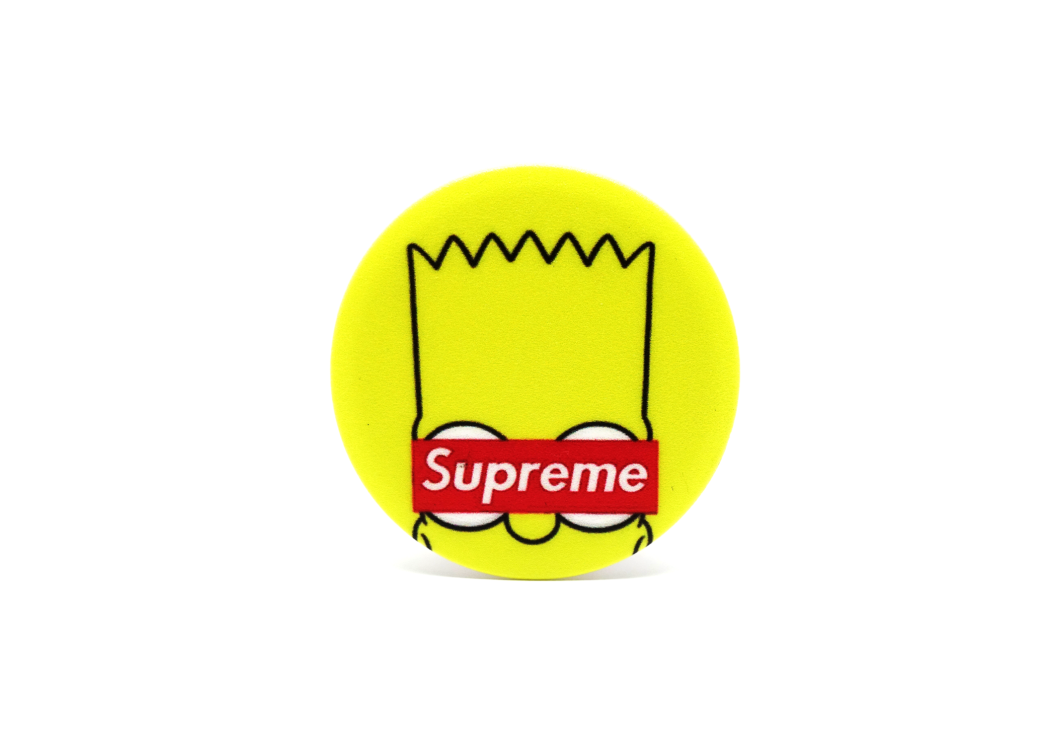 f3a4bb2fe  CellPhoneAccessory  phonestand  Accessory  Grip  iPhone  android   iphonestand  bart  simpsons  supreme  red  yellow  funny  phone