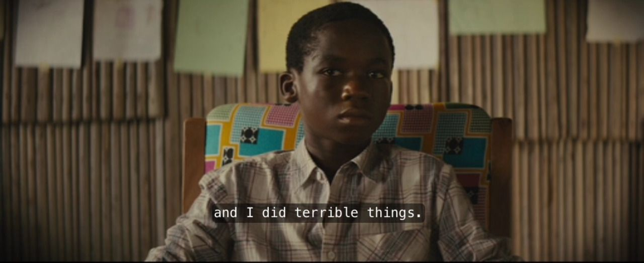 "xanz: "" Beasts of No Nation (2015) dir. Cary Fukunaga """