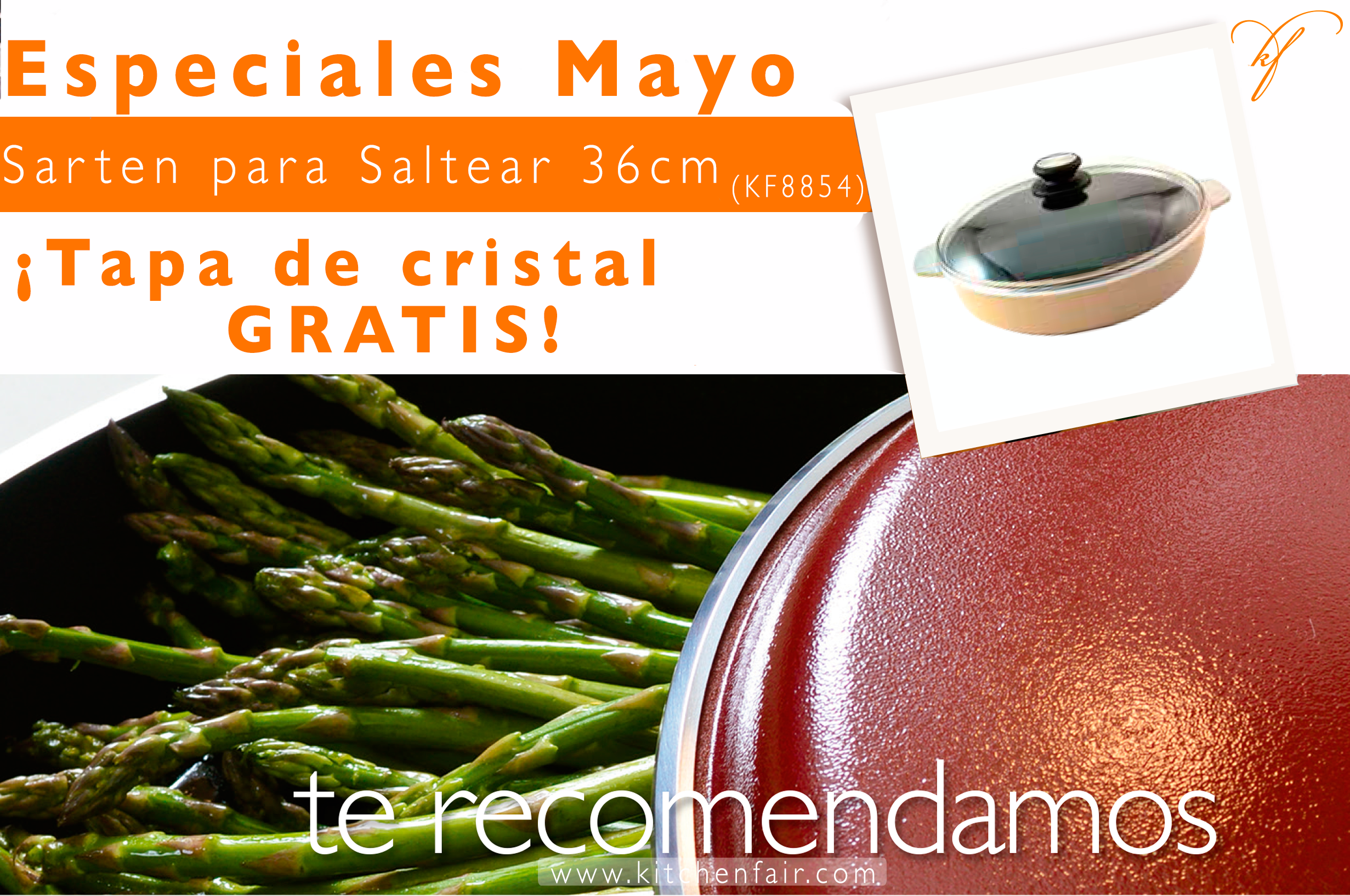 ¡Especiales del mes de Mayo! ‪#‎YoamoKitchenFair‬