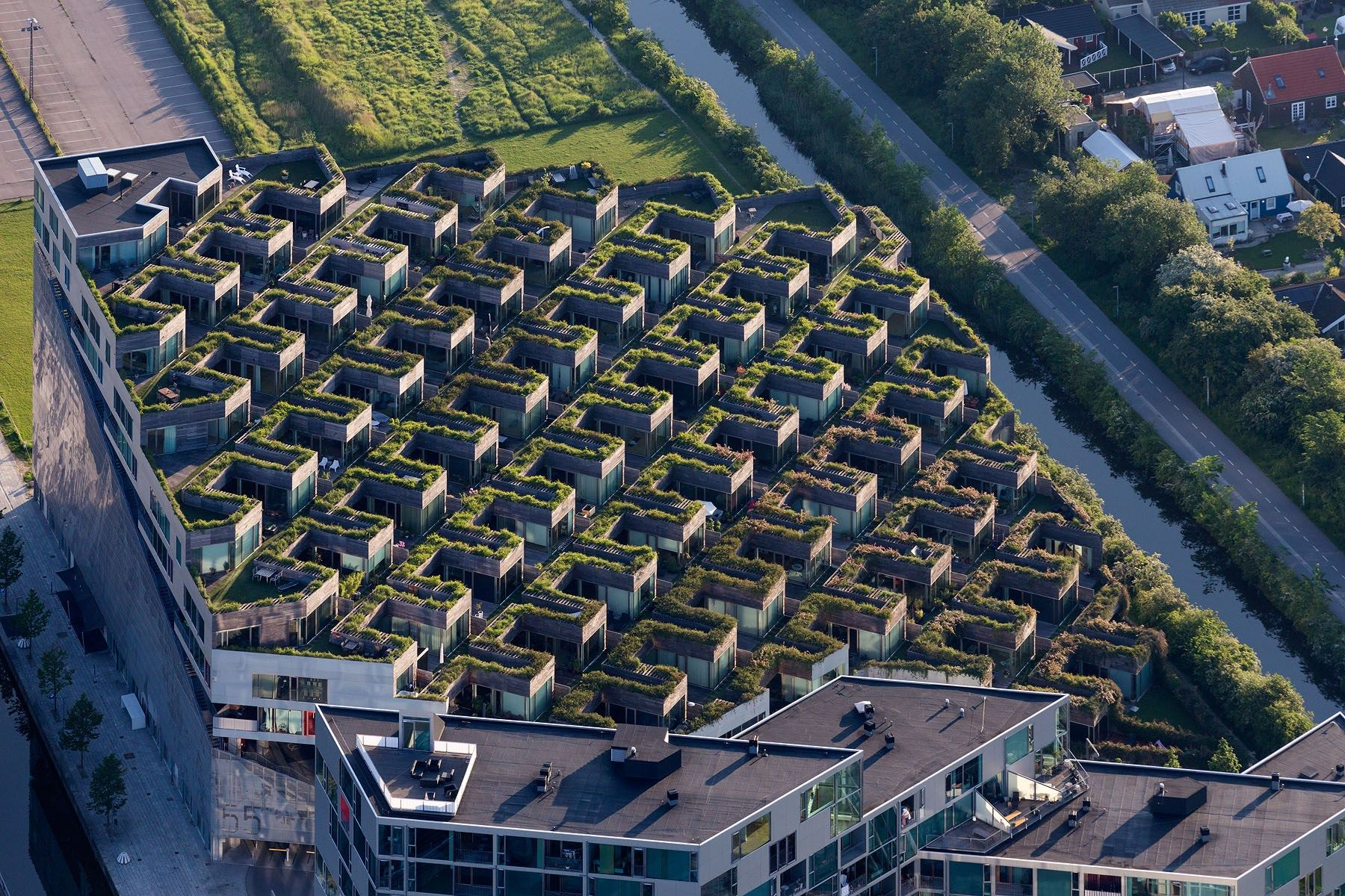 Design Construction Et Associés Granville mountain dwellings, copenhagen – bjarke ingels + julien de smedt