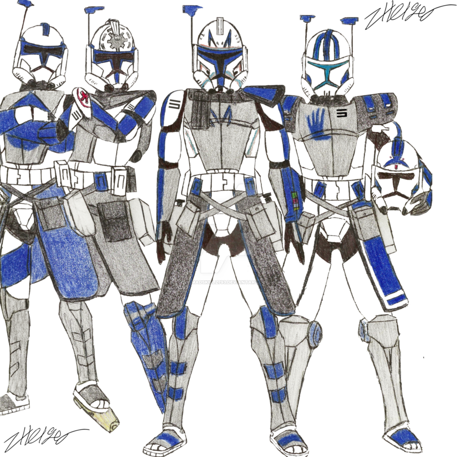 Squad 5 Original Sketch By Madskillz793 In 2020 Star Wars Characters Pictures Star Wars Background Star Wars Pictures