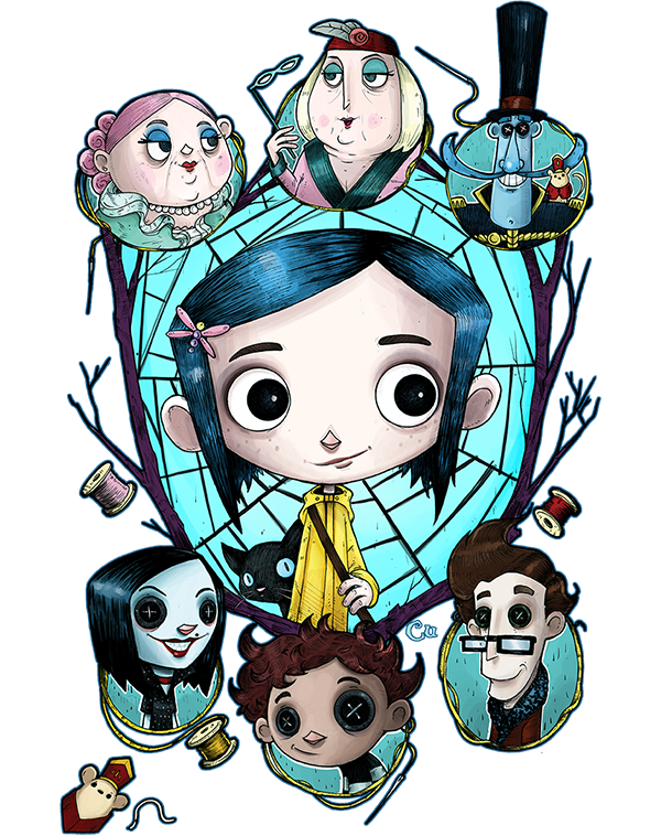 Taking Over The World One T Shirt At A Time Teevillain Coraline Coraline Art Tim Burton Art
