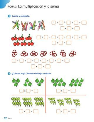 Cuaderno De Matemáticas 2º De Primaria Segundo Trimestre Los Caminos Del Saber Santillana Cuadernos De Matemáticas Fichas De Matematicas Matematicas