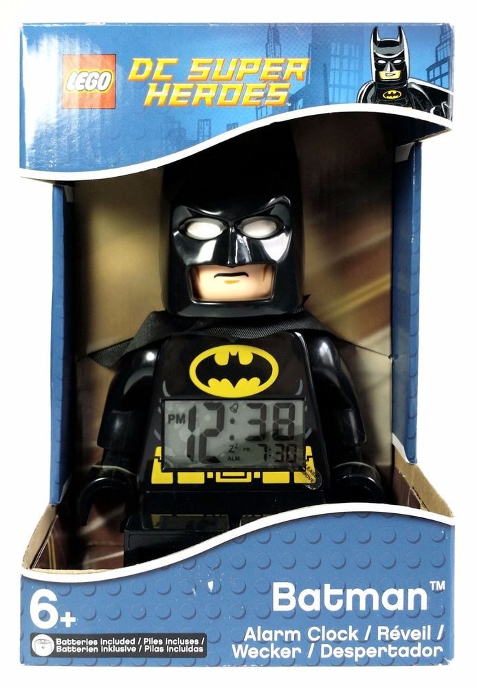 Lego DC Super Heroes Batman Movie Character Alarm Clock ...