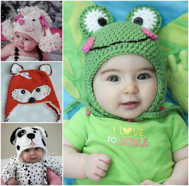 Free Crochet Baby Animal Hats Pinterest Top Pins | Gehäkelte tiere ...