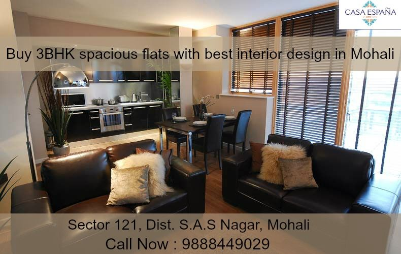 ATS #GolfMeadows has best premium design with #spacious interiors for sale in #Mohali. Call Now : 9888449029