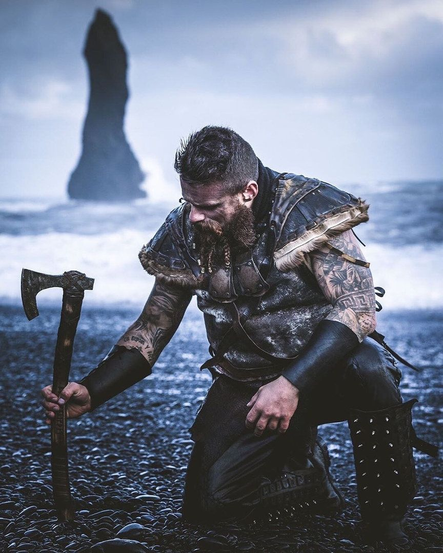 Viking Scandinavian Bearded Battle Axe Etsy In 2020 Fairytale Photography Scandinavian Vikings