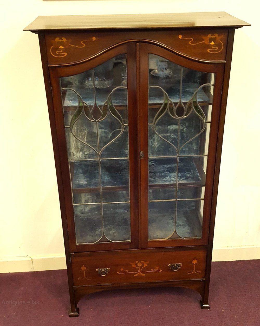 Classic Furniture Display Classic Art Nouveau Display Cabinet Or Bookcase Art Nouveau Furniture Art Nouveau Display Cabinet