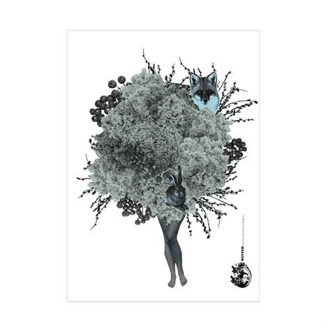 Photo of the sparkling Winter poster from Studio Lisa Bengtsson – NordicNest.com