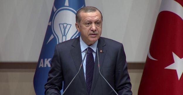 """Erdoğan """"Yuvama, sevdama, aşkıma yeniden dönüyorum"""""""