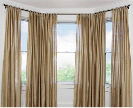 Curtains For Bay Windows Window Modern Kitchen Curtain Designs