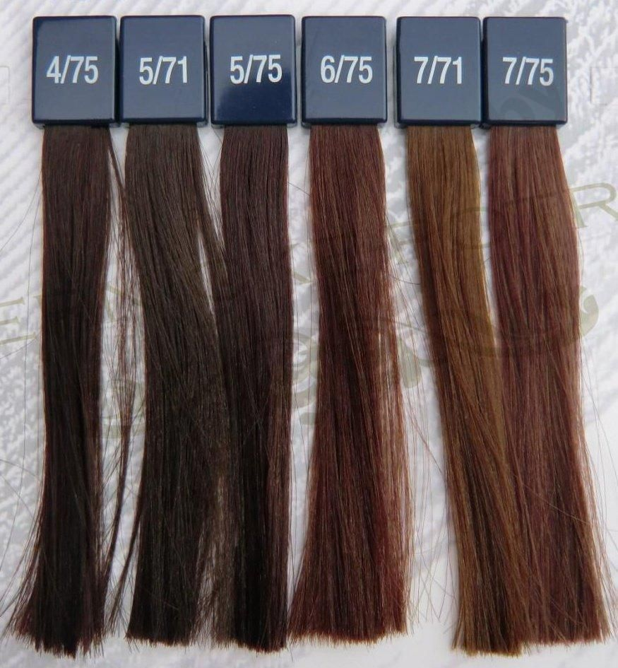 Wella Koleston 5 Deep Browns Hair Color Brown Hair Colors Brown Hair Color Chart