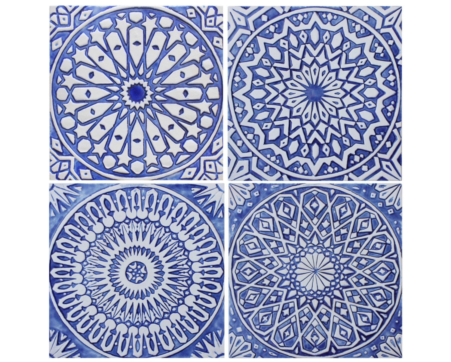 wall hangings with moroccan decor moroccan tile blue and white