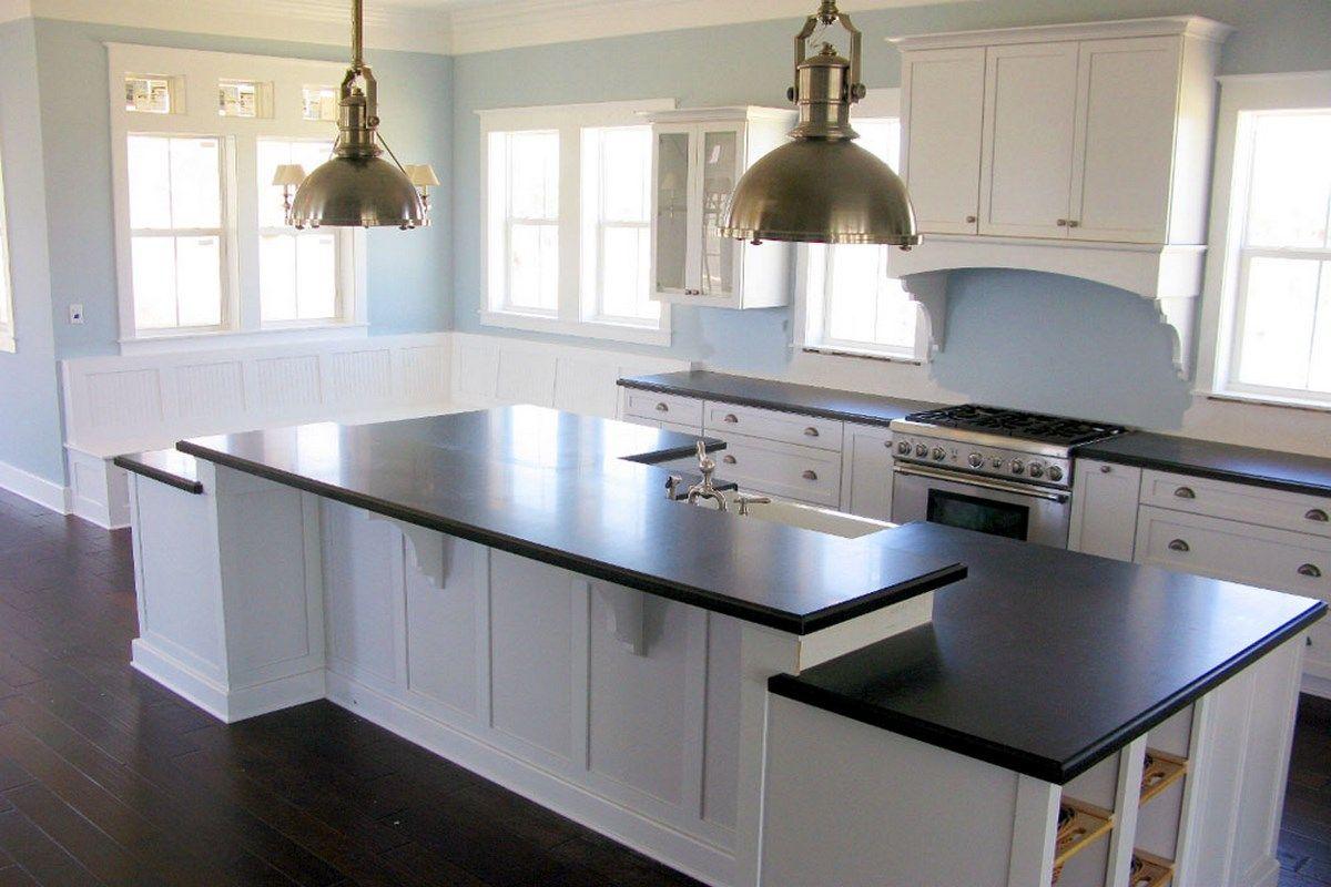 Kitchens With White Cabinets And Dark Floors Ideasdecoracioninteriores Com White Modern Kitchen White Gloss Kitchen Wood Floor Kitchen