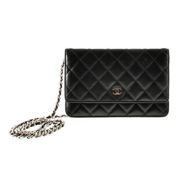 chanel wallet on chain tasche tasche pinterest. Black Bedroom Furniture Sets. Home Design Ideas