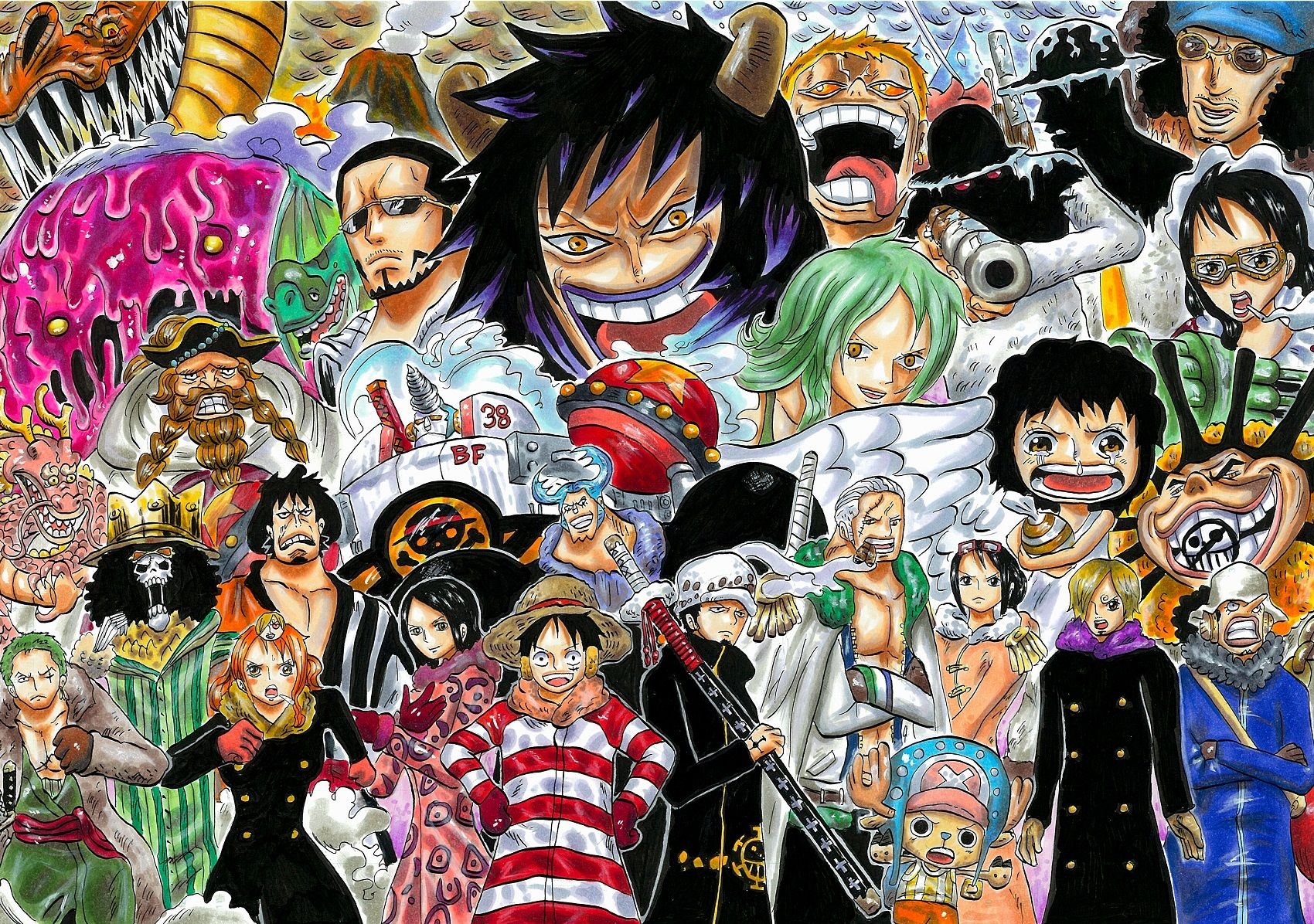 Punk Hazard Arc One Piece Manga One Piece Anime One Piece World