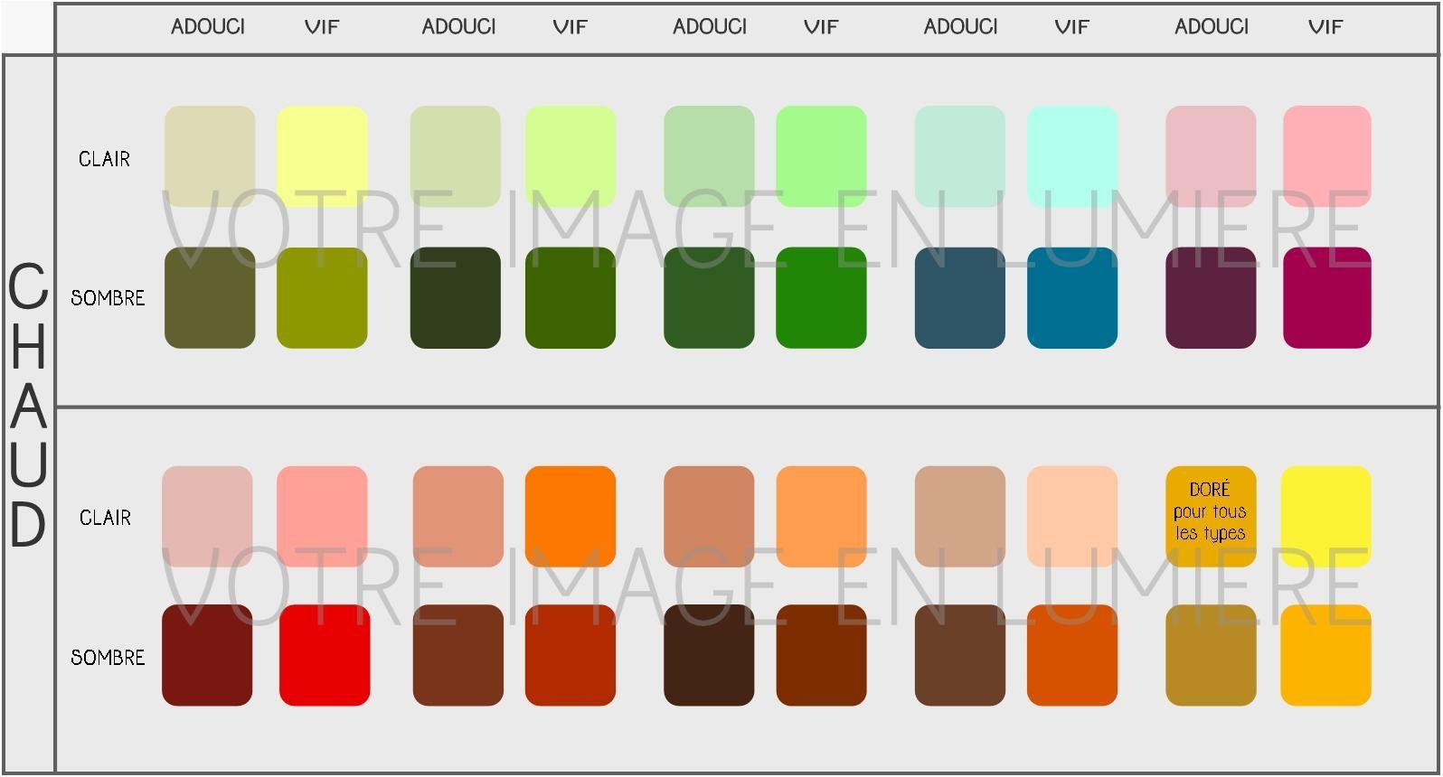 nuancier couleurs simplifi chaud votre image en lum conseil en image pinterest nuancier. Black Bedroom Furniture Sets. Home Design Ideas