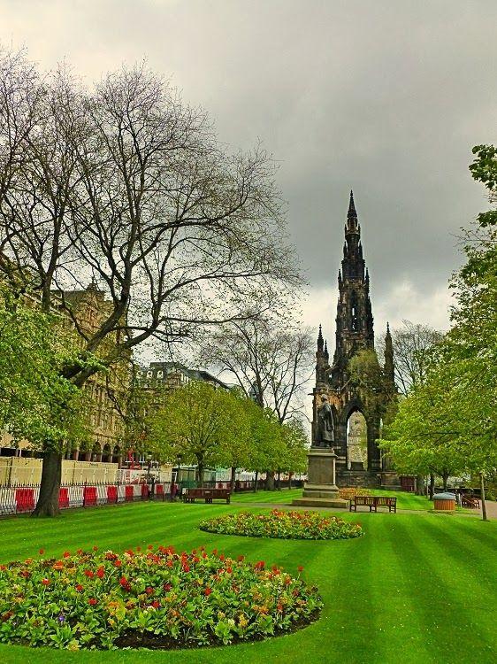 Princes Street Gardens, Edinburgh - we had our honeymoon in ...