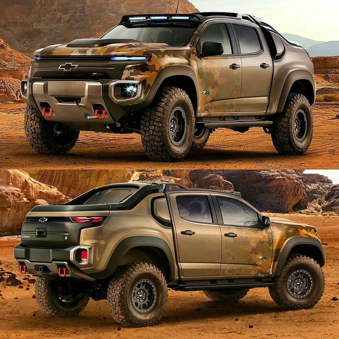 Colorado Zh2: Chevrolet Colorado ZH2 Concept 2016 Mais ângulos Da