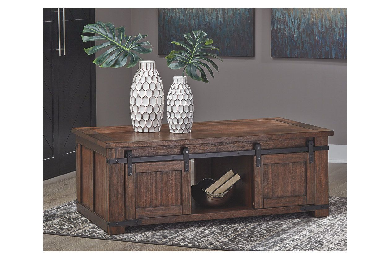 Budmore Coffee Table Ashley Furniture Homestore Furniture