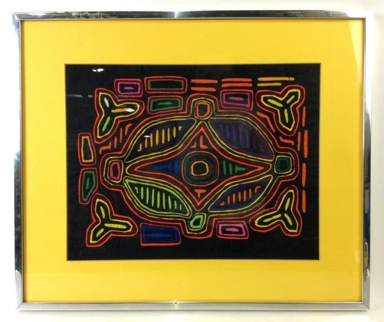 Kuna Mola Textile Artwork