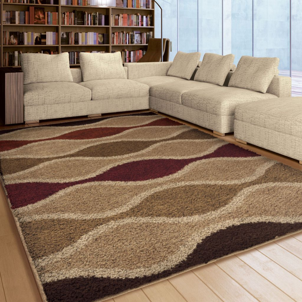 Carson Carrington Kokkola Multi Shag Area Rug 7 10 X 10 10