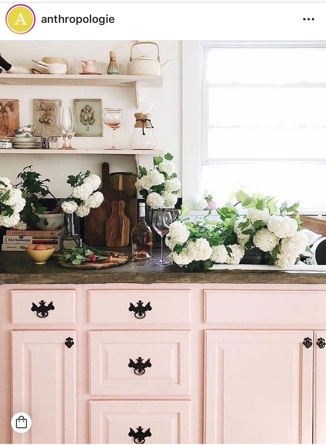 pin by patsy cline on dream kitchens pink kitchen cabinets pink kitchen pink cabinets on kitchen decor pink id=43930
