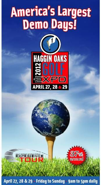 Golf Expo, May 27-29 @Haggin Oaks.  Come see me! Huge golf event to kick off the season.