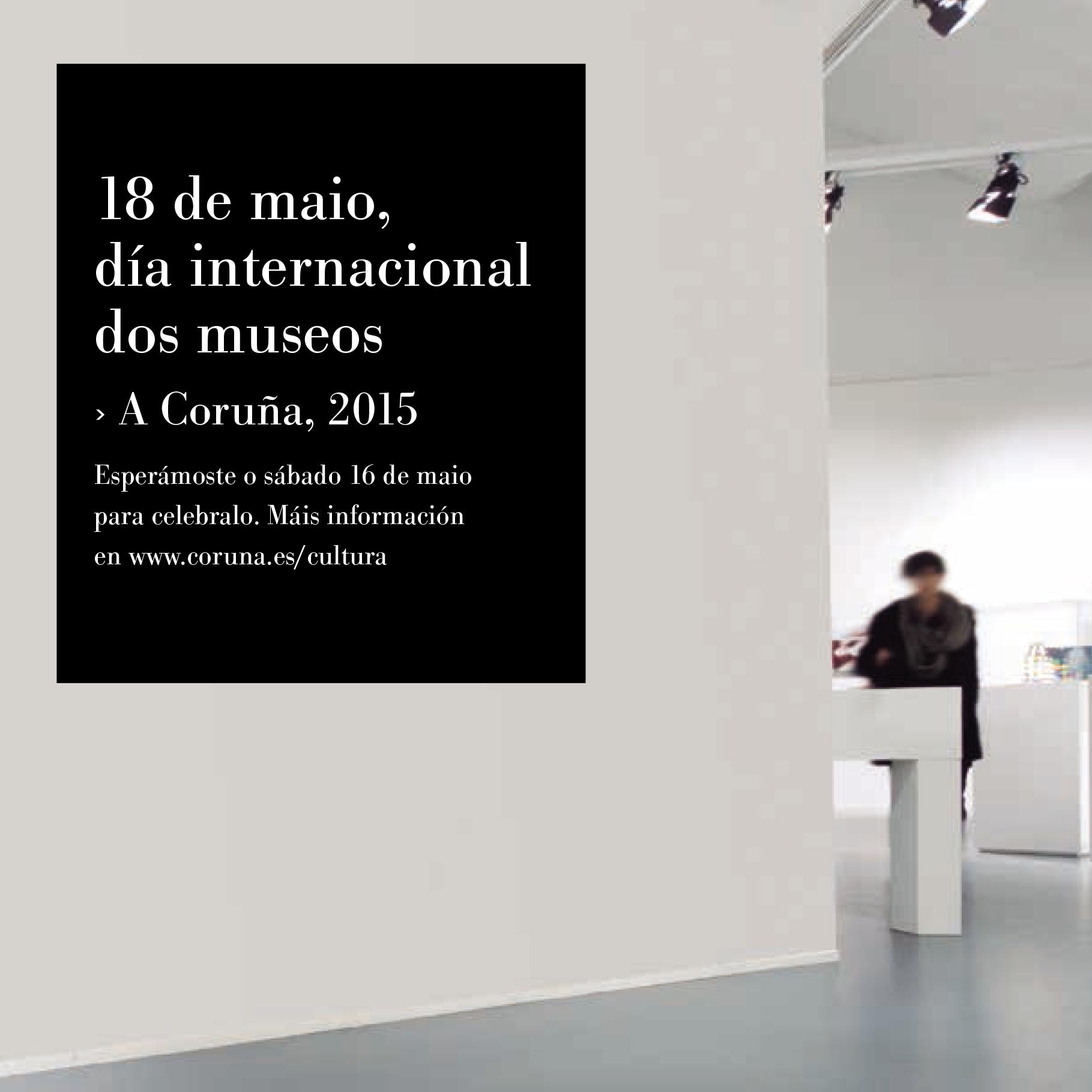 Consulta a programación da Coruña para o #DíadosMuseos ➡ http://goo.gl/EiZKge