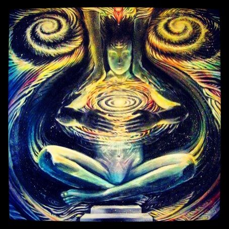 """""""You exist in time, but you belong to eternity. You are a penetration of eternity into the world of time. You are deathless, living in a body of death. Your consciousness knows no death, no birth, it is only your body that is born and dies, but you are not aware of your consciousness. You are not conscious of your consciousness, and that is the whole art of meditation; becoming conscious of consciousness itself.""""    ~ Osho"""