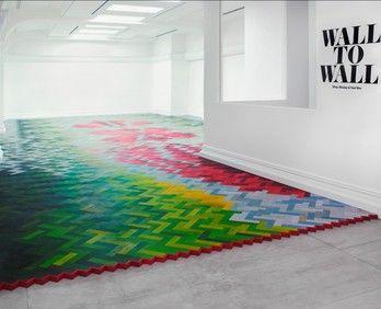 Amazing floor by Raw Edges Design Studio
