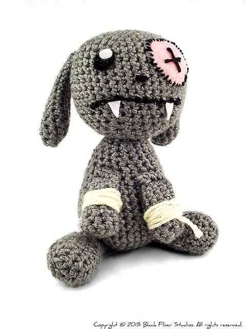 Vampire bunny!   Crochet   Pinterest   Häckeln, Häkeln und Stricken