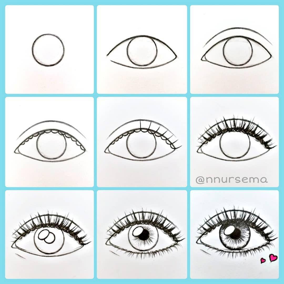Nursema On Instagram Drawing Goz Cizimi Nnursema Eyedrawing Pencil Pencil Easy Drawing Tutorial Cizim Sanat Cizimleri