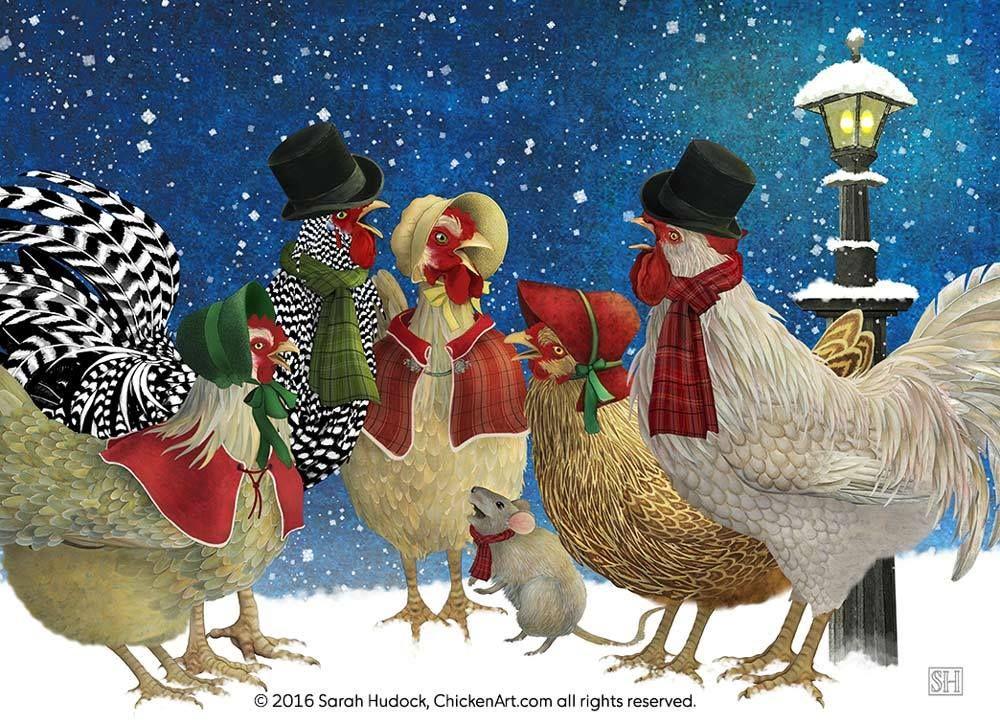 поздравления от курочки с новым годом уделяешь времени внимания