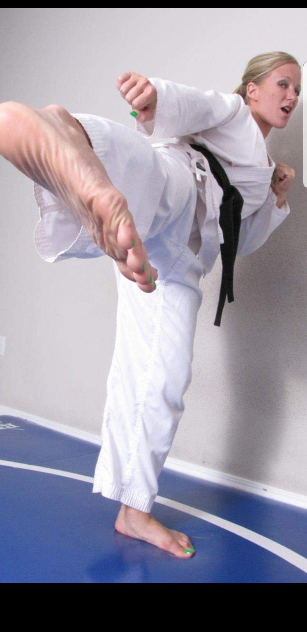 Rib Breaker Karate Martial Arts Women