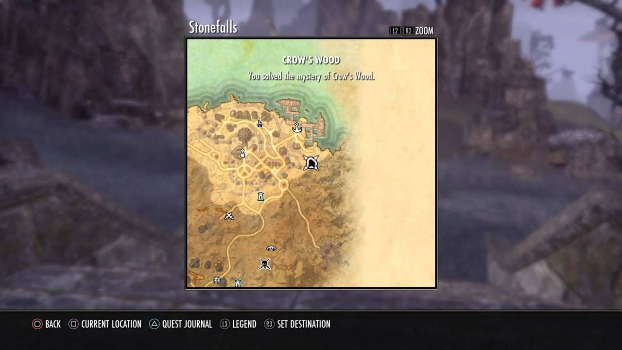 Stonefalls Treasure Map IV Location Elder Scrolls Online: Tamriel ...