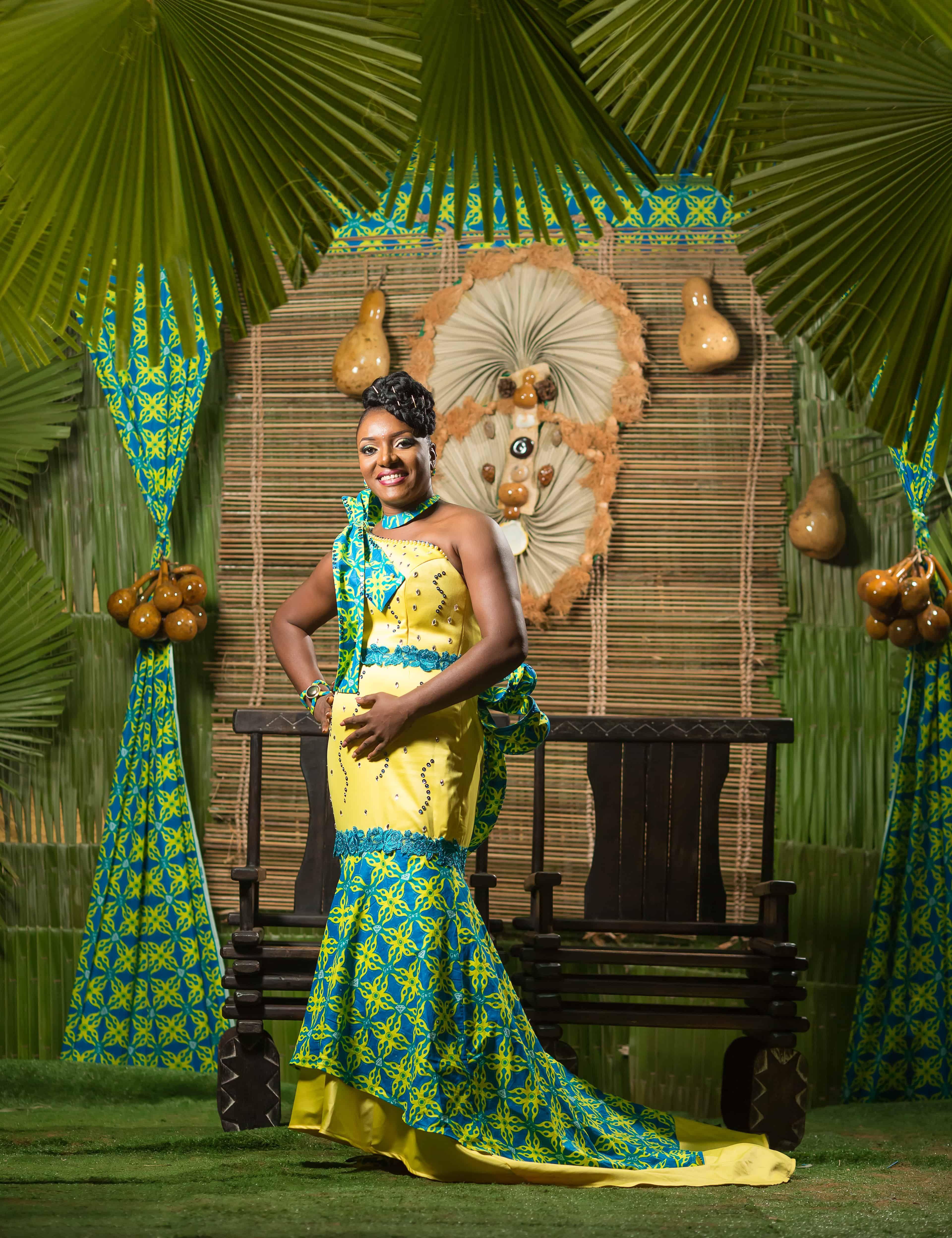 Lamar Event Mariage Coutumier Africain Gabonais Decoration