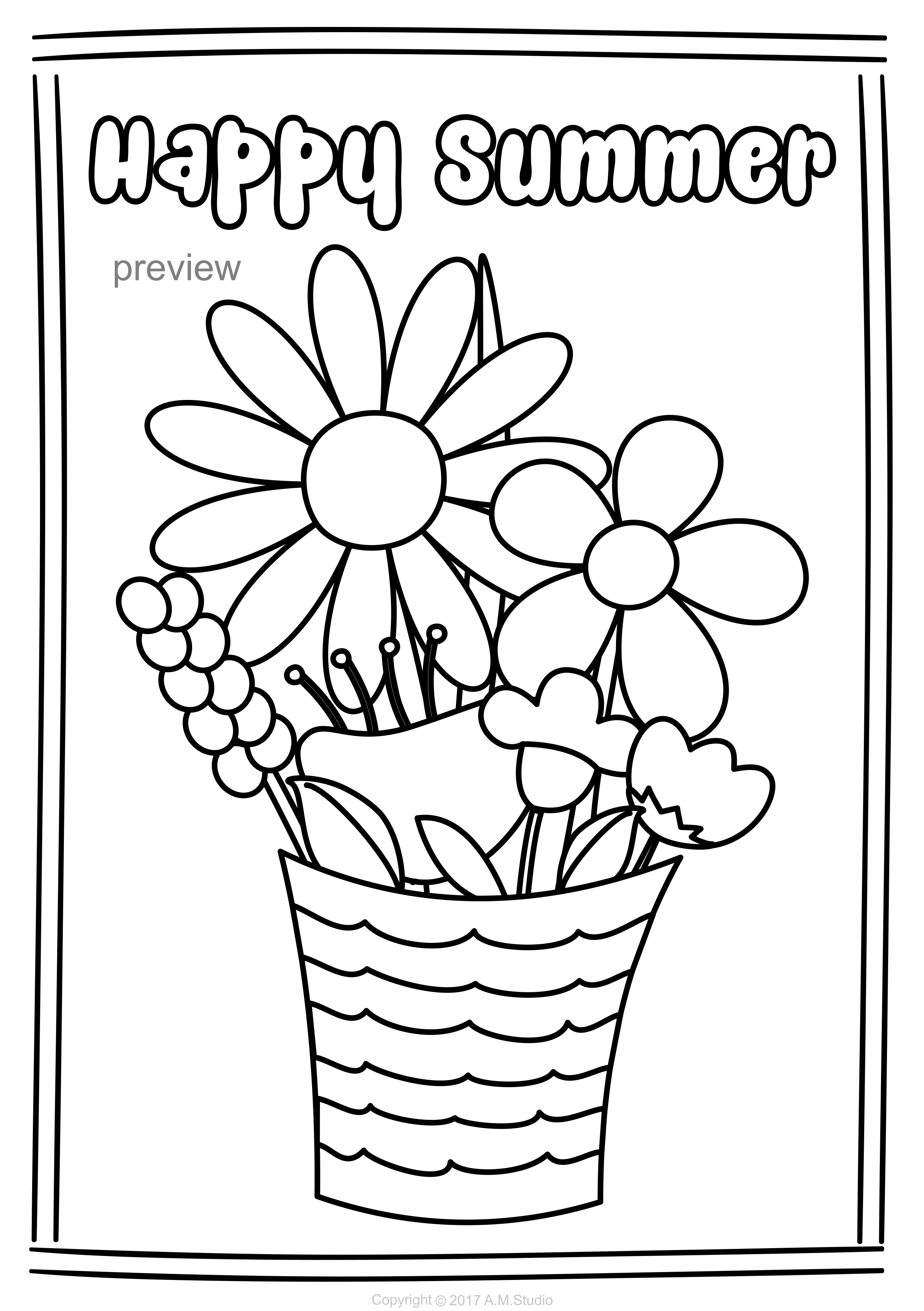 - Summer Coloring Pages Summer Coloring Pages, Coloring Pages