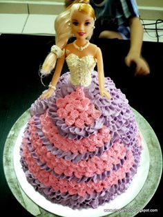 barbie cakes Shugarholic barbie doll cake Barbie cake RANI MY