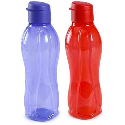 Tp 380 T750 Tupperware Aquasafe Sports Water Bottle Flip Top 750ml 2 Pcs Check This Awesome Product By Going T Water Bottle Sport Water Bottle Tupperware