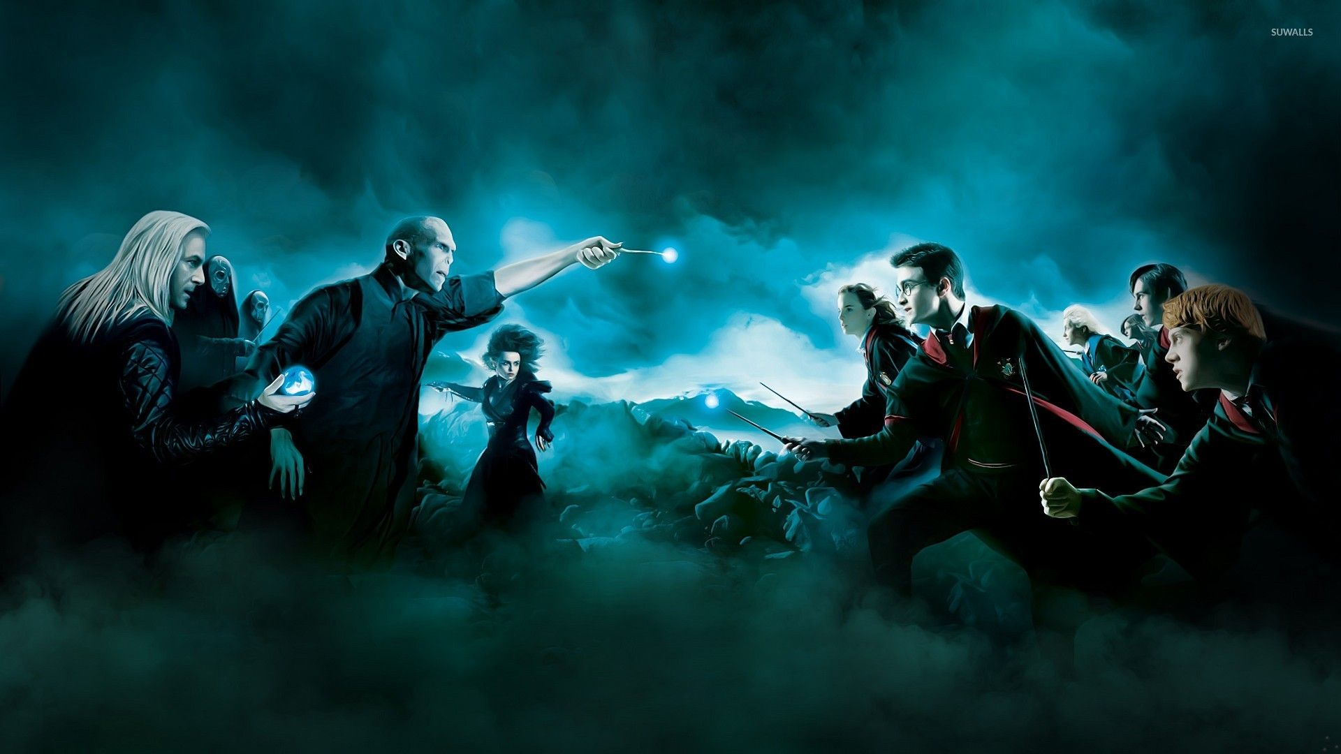 Harry Potter And The Deathly Hallows Hd Desktop Wallpaper Harry Potter Vs Voldemort Harry Potter Wiki Harry Potter Tumblr