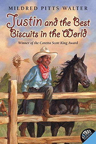 1987 Author Award Winner:      Mildred Pitts Walter, author of Justin and the Best Biscuits in the World, illustrated by Catherine Stock (Lothrop).