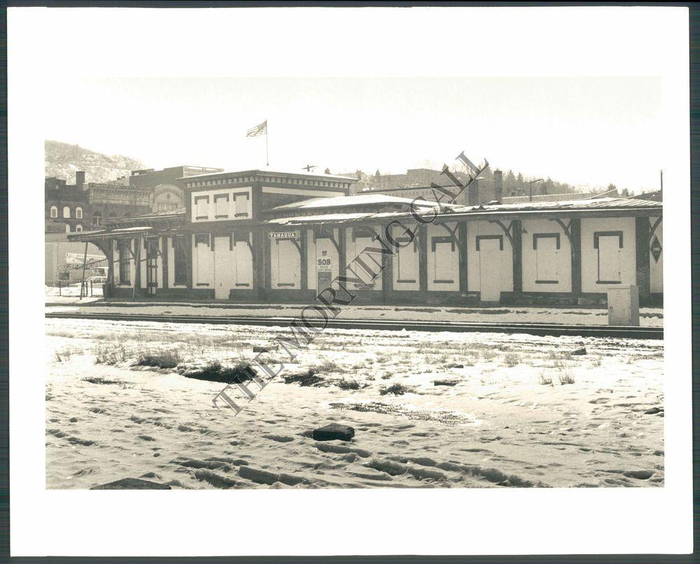 MC Photo AFX 324 Tamaqua PA Railroad Station | eBay