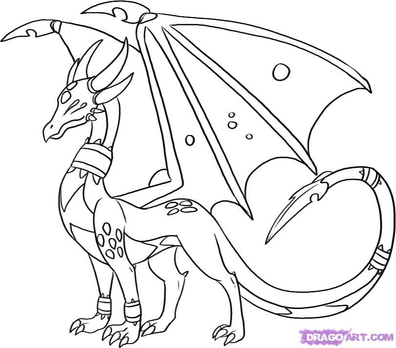 spyro and cynder coloring pages - photo#8