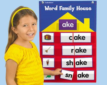 could make your own word family mat too word family house pocket chart kit at