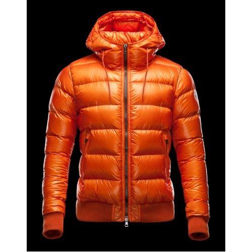 Moncler chaquetas para  naranja