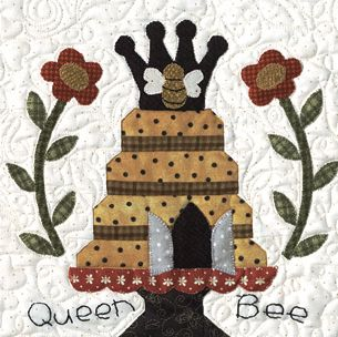 Honey Bee Lane Quilt Block of the Month or All at Once - ONLY A ... : honey bee quilt pattern - Adamdwight.com