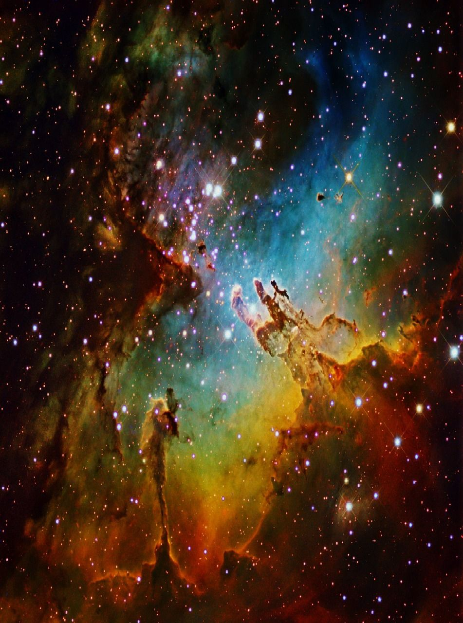 astronomy, outer space, space, universe, stars, nebulas ...
