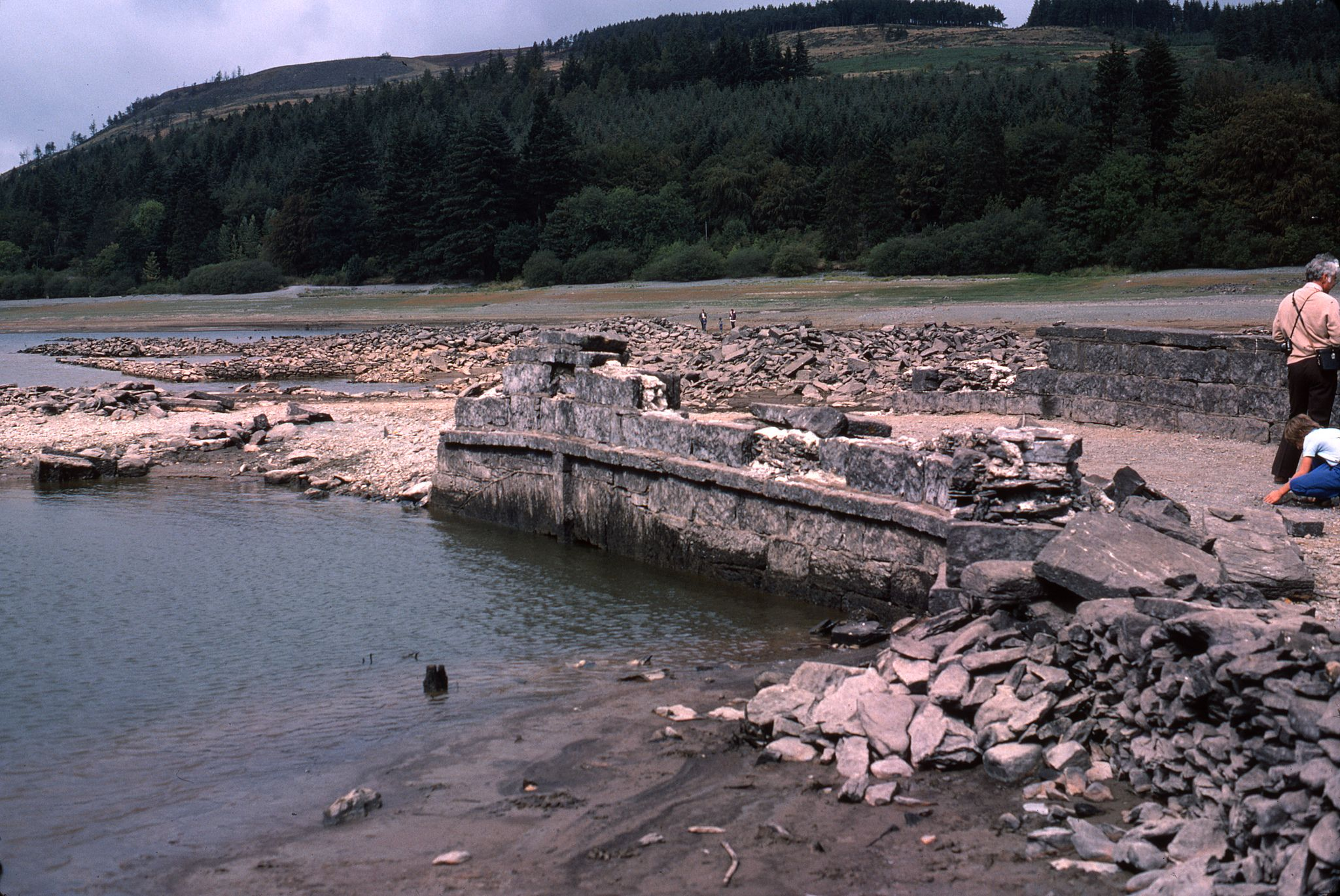 Lake Vyrnwy During 1976 Drought In 2019 Water River