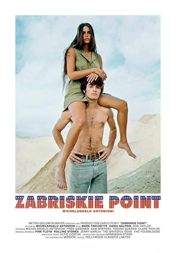 ZABRISKIE POINT (1970) - Michelangelo Antonioni